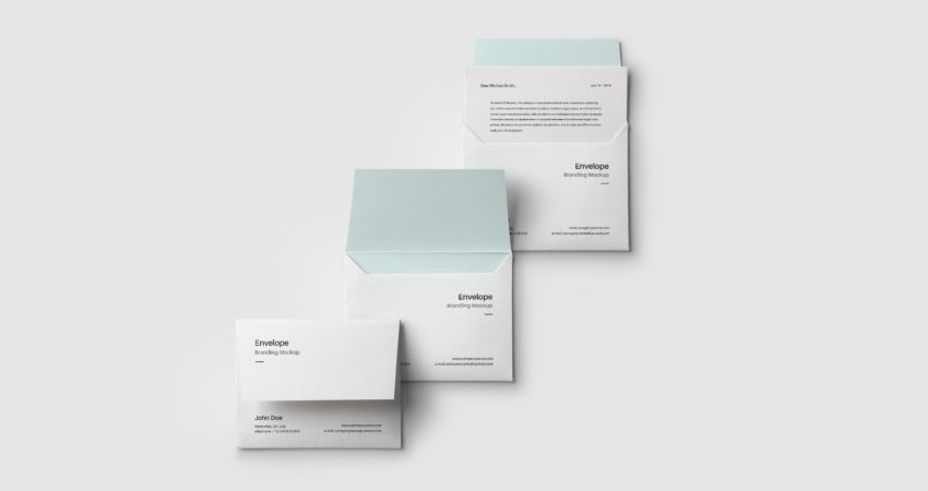 Creating Envelope Brand Presentation