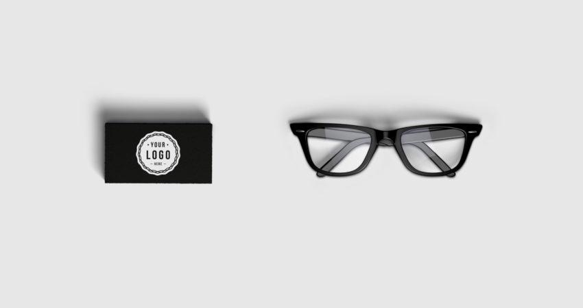 Branding Identity, Business Cards & Glasses