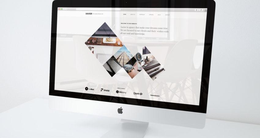 Xavier Agency WordPress Theme on Themeforest